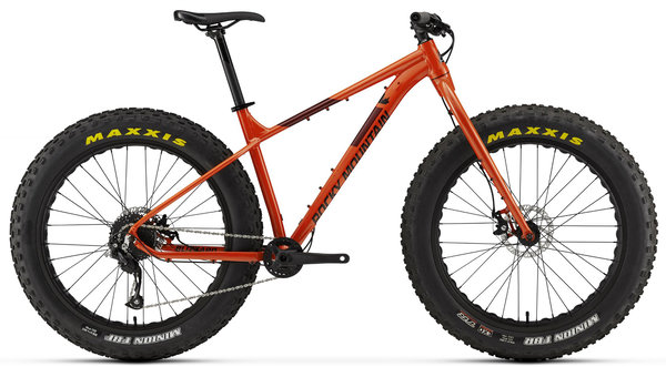 Rocky Mountain Blizzard Alloy 10 Color: Orange/Red