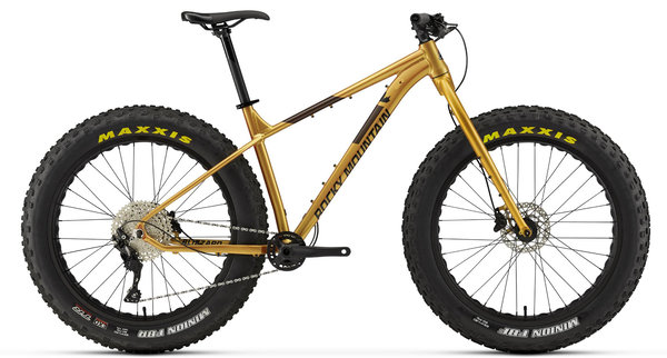 Rocky Mountain Blizzard Alloy 20 Color: Gold/Brown