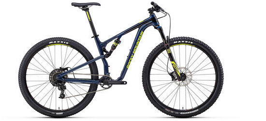 Rocky Mountain Element Alloy 30 Color: Blue/Green
