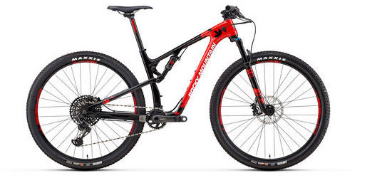 Rocky Mountain Element Carbon 70 XCO Color: Red/Black