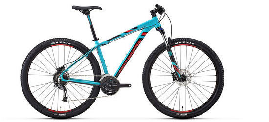 Rocky Mountain Fusion 30 Color: Blue/Red