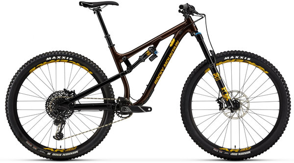 Rocky Mountain Instinct Alloy 50 BC Edition Color: Brown/Black