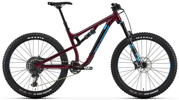 Rocky Mountain Pipeline Alloy 50 Color: Red/Black