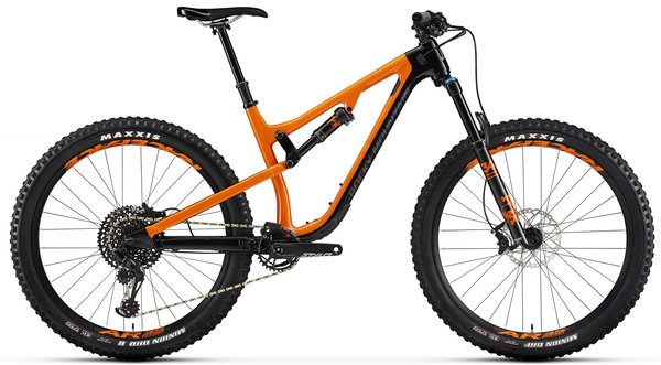Rocky Mountain Pipeline Carbon 50 Color: Black/Orange