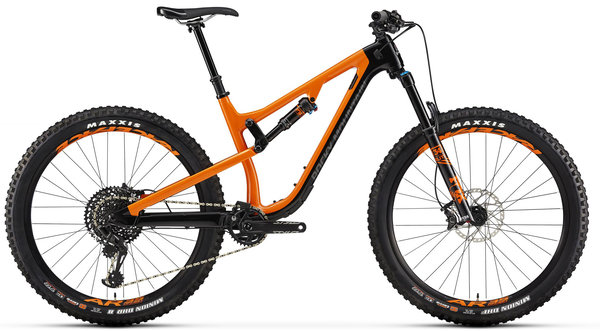 Rocky Mountain Pipeline Carbon 70 Color: Black/Orange