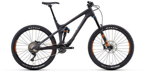 Rocky Mountain Slayer Carbon 50 Color: Black/Grey