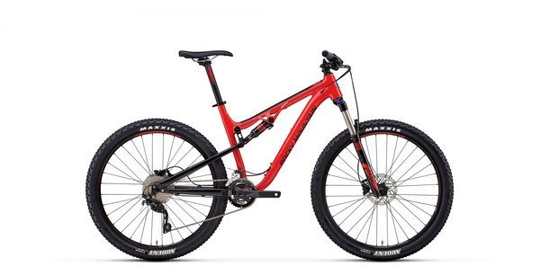 Rocky Mountain Thunderbolt Alloy 10 Color: Red/Black