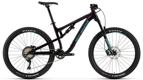 Rocky Mountain Thunderbolt Alloy 30 Color: Purple/Black