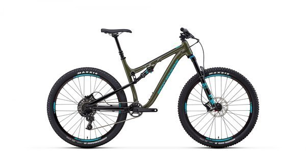 Rocky Mountain Thunderbolt Alloy 50 Color: Green/Blue