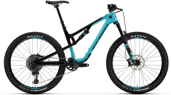 Rocky Mountain Thunderbolt Carbon 50 Color: Blue/Black