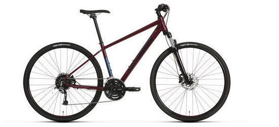 Rocky Mountain Whistler 50 Color: Burgundy
