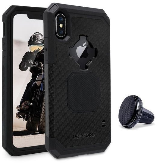 Rokform Rugged Case - iPhone X Color: Black
