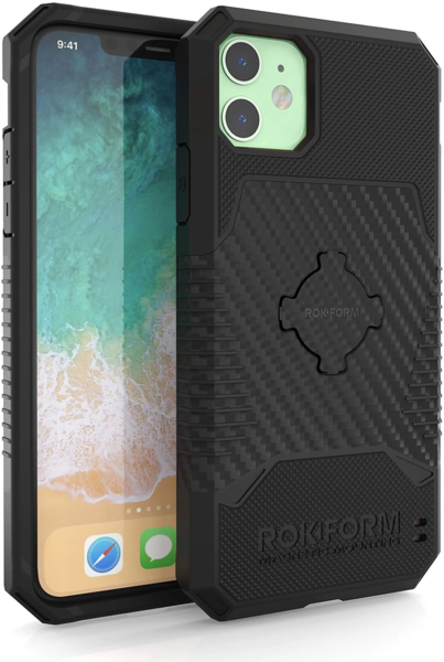 Rokform Rugged Wireless Case - iPhone 11 Color: Black
