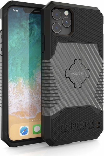 Rokform Rugged Wireless Case - iPhone 11 Pro Max Color: Gunmetal