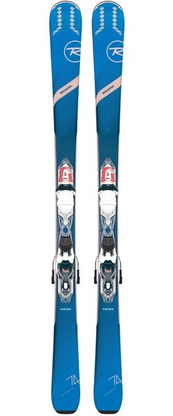 Rossignol Women's All Mountain Experience 74 W + Xpress 10