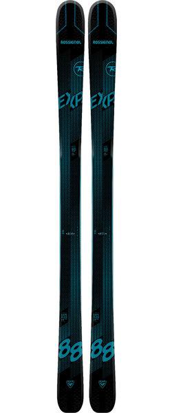 Rossignol Men's All Mountain Skis Experience 88 TI Basalt