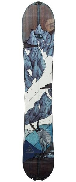 Rossignol Men's Backcountry Snowboard XV Split (With Tail Skin Slots)