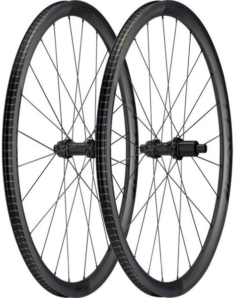 Roval Alpinist CL Wheelset Color: Satin Carbon/Black
