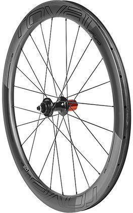 Roval CLX 50 Disc Clincher Rear Color: Satin Carbon/Gloss Black