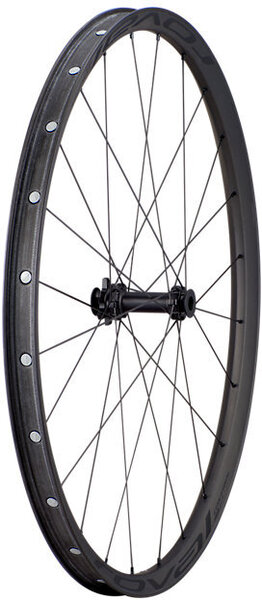 Roval Control SL 29 6B Front Wheel Axle | Color | Size: 110 x 15mm | Satin Carbon Rim/Satin Black | 29-inch