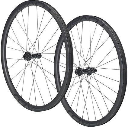 Roval Control SL 29 Torque Tube 148 Wheelset Color: Satin Carbon Rim/Satin Black