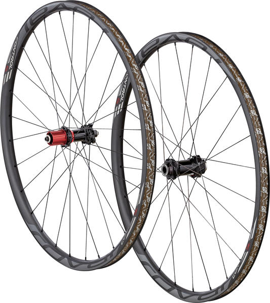 Roval Control SL 29 Torque Tube Wheelset Color: Satin Carbon/Gloss Charcoal