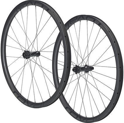 Roval Control SL 29 Torque Tube Wheelset Color: Satin Carbon Rim/Satin Black Decal
