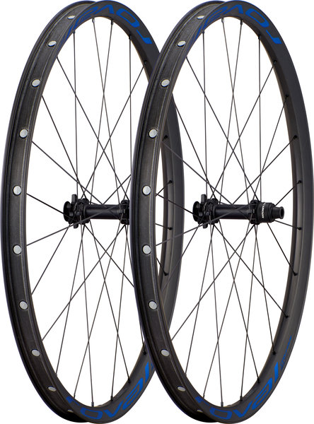 Roval Control SL Team Limited 29-inch Wheelset Color: Satin Carbon/Metallic Blue