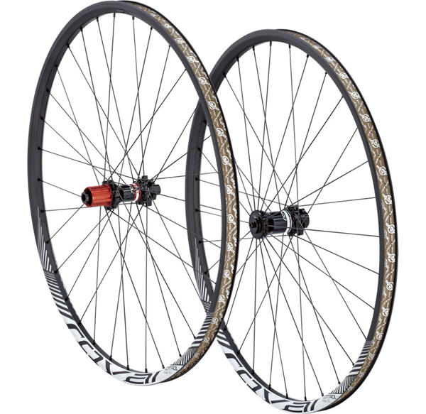Roval Control Trail SL 29 142+ Wheelset Color: Satin Carbon/White Wedge