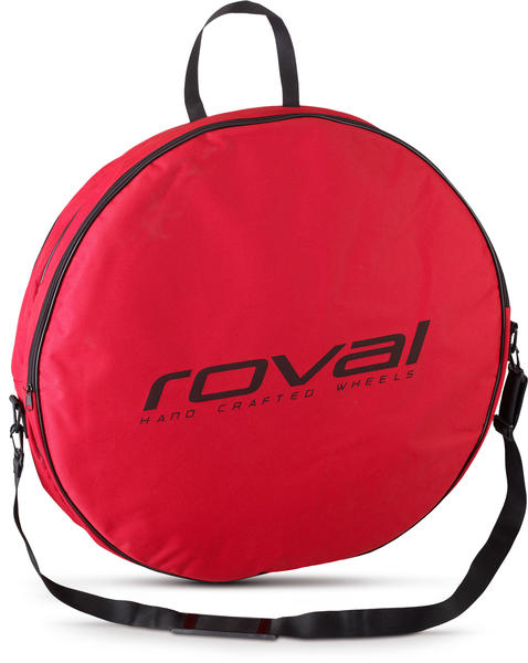 Roval Double Wheel Bag Color: Red/Black