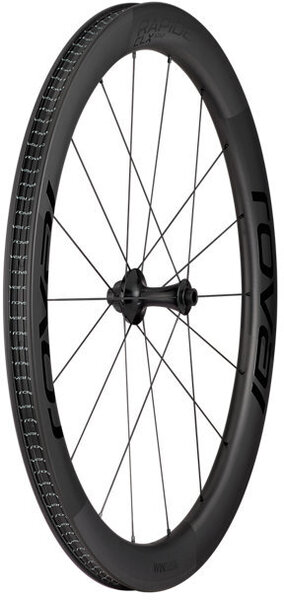 Roval Rapide CLX Front Wheel Color: Satin Carbon/Gloss Black