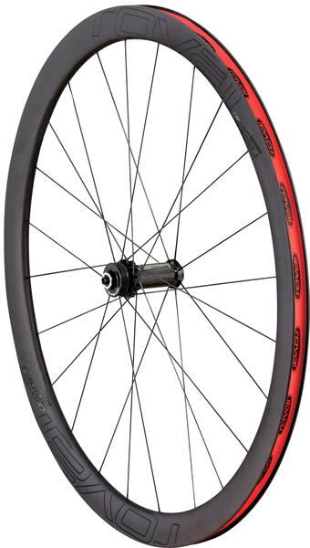Roval Rapide CLX 40 Disc Clincher Front Wheel Color: Satin/Gloss Black