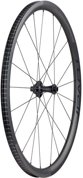 Roval Alpinist CLX Front Color: Satin Carbon/Gloss Black