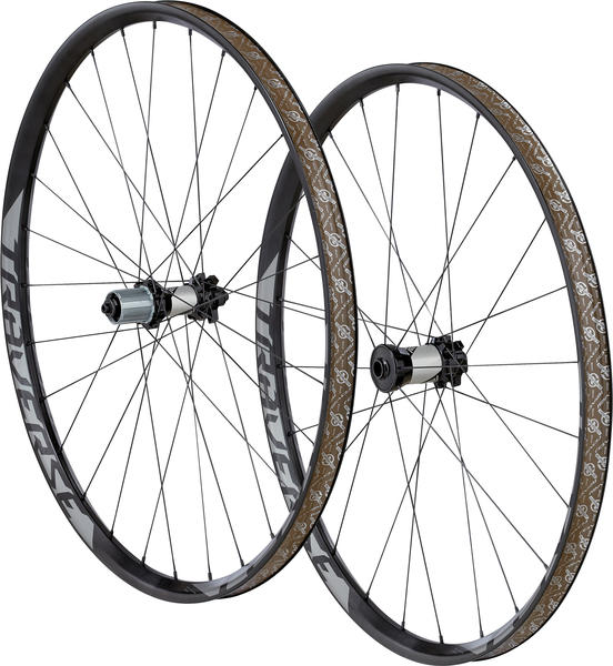 Roval Traverse Fattie 29 Wheelset Color: Charcoal Decal