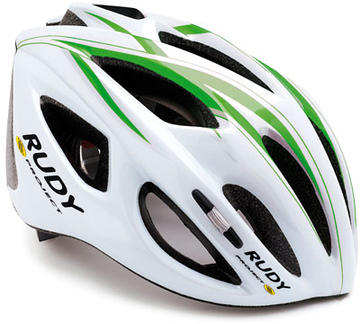 Rudy Project Slinger Helmet Color: White/Green/Silver