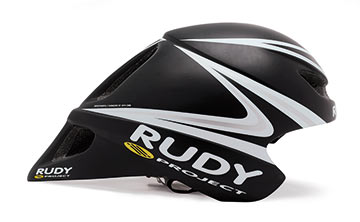 Rudy Project Wingspan TT Helmet Color: Black/White/Silver
