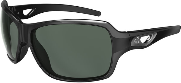 Ryders Eyewear Carlita Color | Lens: Black | Polarized Grey w/Silver Flash