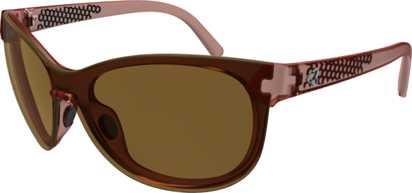 Ryders Eyewear Catja Color | Lens: Dark Matte Red Crystal | Brown