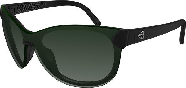 Ryders Eyewear Catja Color | Lens: Black | Standard Green Gradient