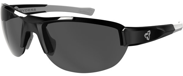 Ryders Eyewear Crankum antiFOG Color | Lens: Black w/Grey | antiFOG Grey