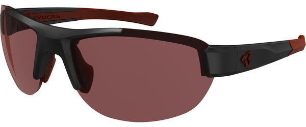 Ryders Eyewear Crankum Color | Lens: Black/Red | antiFOG Rose