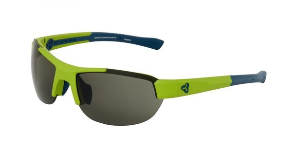 Ryders Eyewear Crankum antiFOG Color | Lens: Matte Green/Blue | antiFOG Green