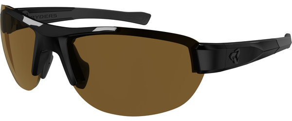 Ryders Eyewear Crankum Standard Color | Lens: Black | Standard Brown