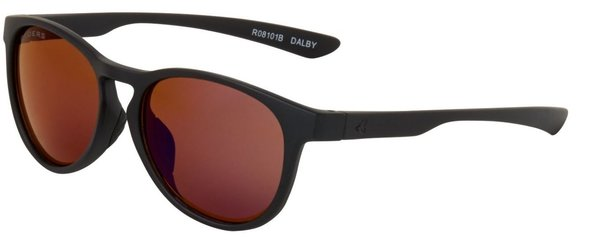 Ryders Eyewear Dalby Color | Lens: Black Matte | Brown/Blue Mirror
