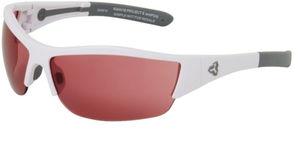 Ryders Eyewear Fifth Polarized Color | Lens: Gloss White/Grey | Polarized Rose/Silver Mirror