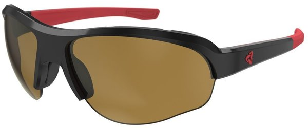 Ryders Eyewear Flume antiFOG Color | Lens: Black/Red | antiFOG Brown
