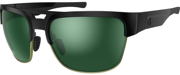 Ryders Eyewear Giv Color | Lens: Black | Standard Green w/Silver Flash