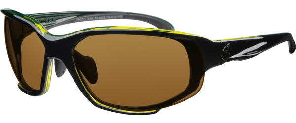 Ryders Eyewear Hijack Interchangeable Color | Lens: Gloss Black/Green | Brown|Clear|Gray