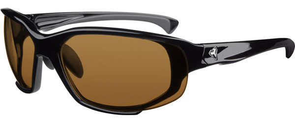 Ryders Eyewear Hijack Interchangeable Color | Lens: Gloss Black | Brown|Clear|Gray
