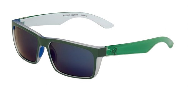 Ryders Eyewear Hillroy Color | Lens: Green Xtal/Blue | Green|Blue Mirror